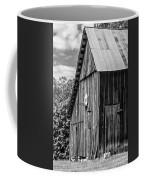 An American Barn Bw Coffee Mug