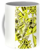 Anchors Above - Icons Below Coffee Mug