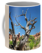 Ancient Dead Juniper With Character Coffee Mug