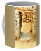 Ancient Windows Aztec Ruins Coffee Mug