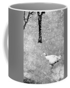 And Winter Lingered Coffee Mug by Mary Lee Dereske