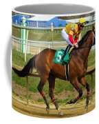 Angel Suarez - Big Boots - Laurel Park Coffee Mug
