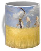 Anna Ancher - Harvesters Coffee Mug