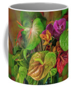 Anthurium Riot Coffee Mug