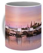 Antique Bridge Of Tavira During Twilight. Portugal Coffee Mug