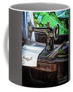 Antique Sewing Machine Coffee Mug