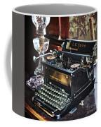 Antique Typewriter 2 Coffee Mug