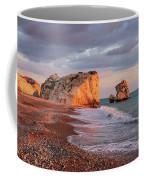 Aphrodite's Birthplace Or Petra Tou Romiou In Cyprus 2 Coffee Mug
