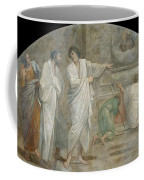 Apparition Of Saint Didacus Above His Sepulchre  Coffee Mug
