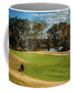 Approaching The 18th Green Coffee Mug