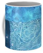 Aqua Agua Abstract Five Coffee Mug
