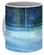 Aqua Agua And Leaf Coffee Mug