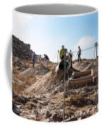 Arabic Ruins At Tall Hasban Coffee Mug by Mae Wertz