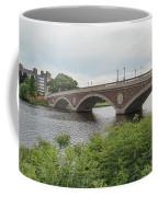 Arch Bridge Over River, Cambridge Coffee Mug
