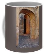 Arches Of A Medieval Castle Entrance In Algarve Coffee Mug