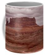 Arizona Red Clay Painted Desert Panoramic View Coffee Mug