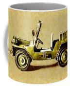 Army Jeep Coffee Mug