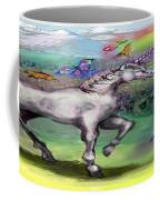 Rainbow Faeries And Unicorn Coffee Mug