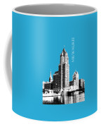 Milwaukee Skyline - 4 - Coral Coffee Mug