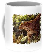 Leopard Painting - On The Prowl Coffee Mug