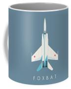 Mig-25 Foxbat Interceptor Jet Aircraft - Slate Coffee Mug