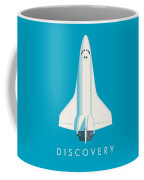 Space Shuttle Spacecraft - Cyan Coffee Mug