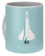Space Shuttle Spacecraft - Sky Coffee Mug