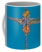 The Abstract Cross Coffee Mug