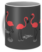 A Flamboyance Of Flamingos  Coffee Mug