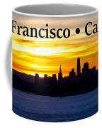 San Francisco Sunrise 2x3 Coffee Mug