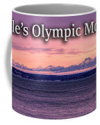 Seattle's Olympic Mountains Coffee Mug