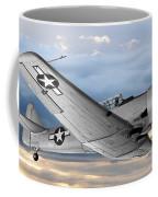 North American T-6 Texan Military Aircraft Coffee Mug