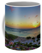 Aruban Sunset Panoramic Coffee Mug by Scott McGuire