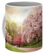 Asian Cherry Grove Coffee Mug