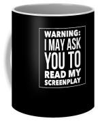 Aspiring Writer Gift Coffee Mug