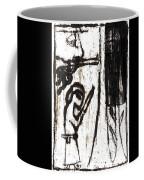Assassin After Mikhail Larionov Black Oil Painting 10 Coffee Mug