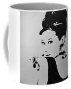 Audrey B W Coffee Mug