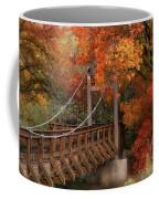 Autumn Across The Bridge  Coffee Mug