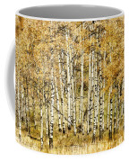 Autumn Aspen Coffee Mug by Brad Allen Fine Art