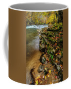Autumn At Cherry Falls Elk River Coffee Mug