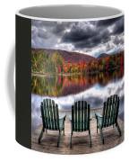 Autumn At The Lake Coffee Mug