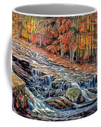 Autumn Cascade Coffee Mug