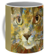 Autumn Cat Coffee Mug