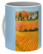 Autumn In French Vineyards Coffee Mug