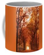 Autumn Lights At Groeneveld Coffee Mug