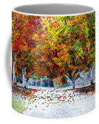 Autumn Trees Coffee Mug