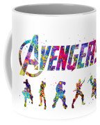 Avengers Team Coffee Mug