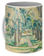 Avenue Of Chestnut Trees At The Jas De Bouffan  Coffee Mug
