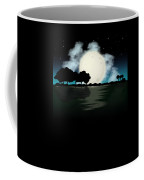 Awesome Guitar Guitarist Lake Fishing Boating Coffee Mug