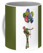 Balloons And Happy Guy Coffee Mug